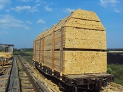 Пиломатериалы(брус , доска) в вагонном объёме